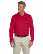 Men�s  EZ-Tech Long-Sleeve Polo
