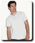 Men�s   Five-Button Jersey Polo