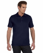 Men's  Hudson Three-Button Polo