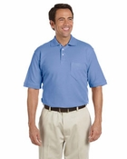 Men's Performance Plus Piqu� Polo with Pocket