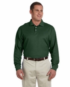 Men's Pima Piqu� Long-Sleeve Polo