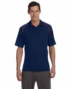 Men's Short-Sleeve Two-Button Polo