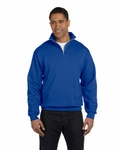 NuBlend� 50/50 Quarter-Zip Cadet Collar Sweatshirt