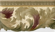 Architectural Leaf Wallpaper Border EDG5134