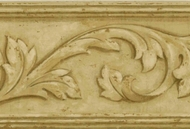 Architectural Leaf Wallpaper Border VC052114b