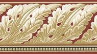 Architectural Wallpaper Border KW7586b