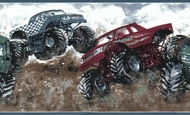 Bigfoot Monster Trucks Wallpaper Border 174201