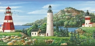 Coastal Lighthouse Wallpaper Border CT46081b