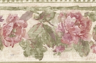 Country Chic Floral Wallpaper Border NRB4827
