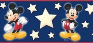 Disney Mickey Mouse Wallpaper Border DF059292b