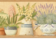 Gardeners Kitchen Wallpaper Border AAI08013b