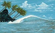 Hang Ten Wall Mural