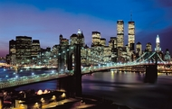 Manhattan Lights Wall Mural C-817