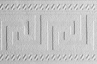 Paintable Greek Key Wallpaper Border (33 feet long) PT1835b