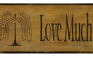 Primitive Live Love Laugh Wallpaper Border CN1110bd