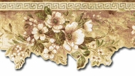 Scalloped Floral Wallpaper Border HB75740dc