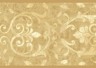 Scrolled Architectural Wallpaper Border WK2239b