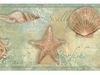 Sea Shells Wallpaper Border