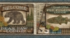 Tugalo Blue Bear Paw Lodge Wallpaper Border TTL01562b