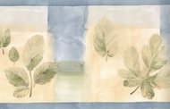 Water Color Leaf Wallpaper Border CT78177L