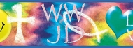 What Would Jesus Do? Wallpaper Border FF03101b