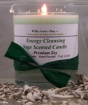 Sage Energy Cleansing Candle (Single)