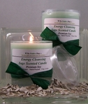 Sage Energy Cleansing Candles (2 Pack)