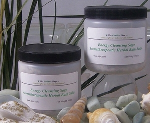 Sage Healing Sea Salts (2 Pack)