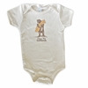 I Love You Califnornia Bear Baby Bodysuit