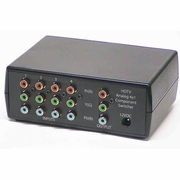 4X1 HDTV Analog Component Video Switcher
