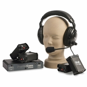 Portacom 2 Channel 4 Single Muff Headset System with Cables