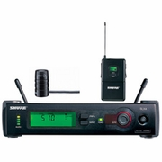 Shure SLX Wireless Bodypack System with WL185 Mic - H5 Frequency Ran