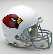 Full Size Authentic Riddell Football Helmet - Arizona Cardinals