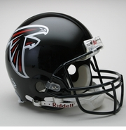 Full Size Authentic Riddell Football Helmet - Atlanta Falcons