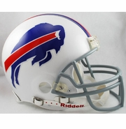 Full Size Authentic Riddell Football Helmet - Buffalo Bills