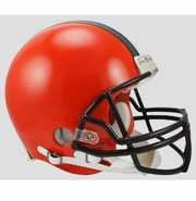 Full Size Authentic Riddell Football Helmet - Cleveland Browns