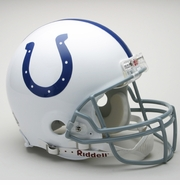 Full Size Authentic Riddell Football Helmet - Indianapolis Colts