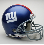 Full Size Authentic Riddell Football Helmet - New York Giants