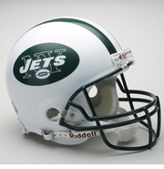 Full Size Authentic Riddell Football Helmet - New York Jets