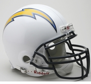 Full Size Authentic Riddell Football Helmet - San Diego Chargers