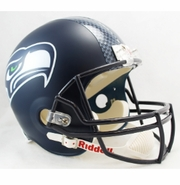 Full Size Replica Football Helmet - Seahawks