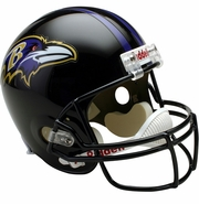 Full Size Replica Riddell Football Helmet - Baltimore Ravens