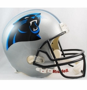 Full Size Replica Riddell Football Helmet - Carolina Panthers