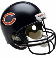 Full Size Replica Riddell Football Helmet - Chicago Bears