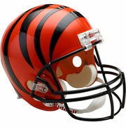 Full Size Replica Riddell Football Helmet - Cincinnati Bengals