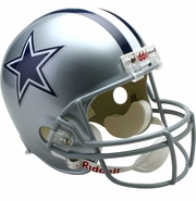 Full Size Replica Riddell Football Helmet - Dallas Cowboys