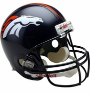 Full Size Replica Riddell Football Helmet - Denver Broncos