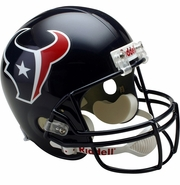 Full Size Replica Riddell Football Helmet - Houston Texans