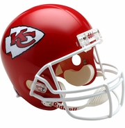 Full Size Replica Riddell Football Helmet - Kansas City Chiefs