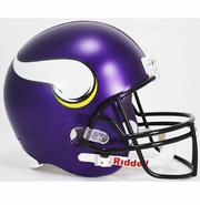 Full Size Replica Riddell Football Helmet - Minnesota Vikings